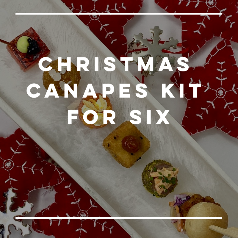 Christmas Canapes Kit - for six