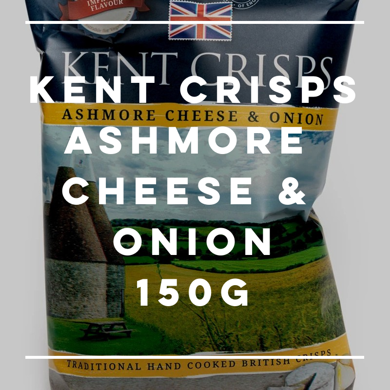 New! Kent Crisps: Ashmore Cheese & Onion