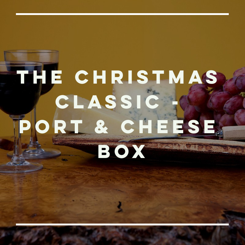The Christmas Classic - Port & Kentish Cheese Box