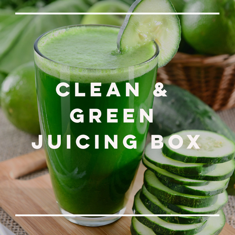 Clean & Green Juicing Box