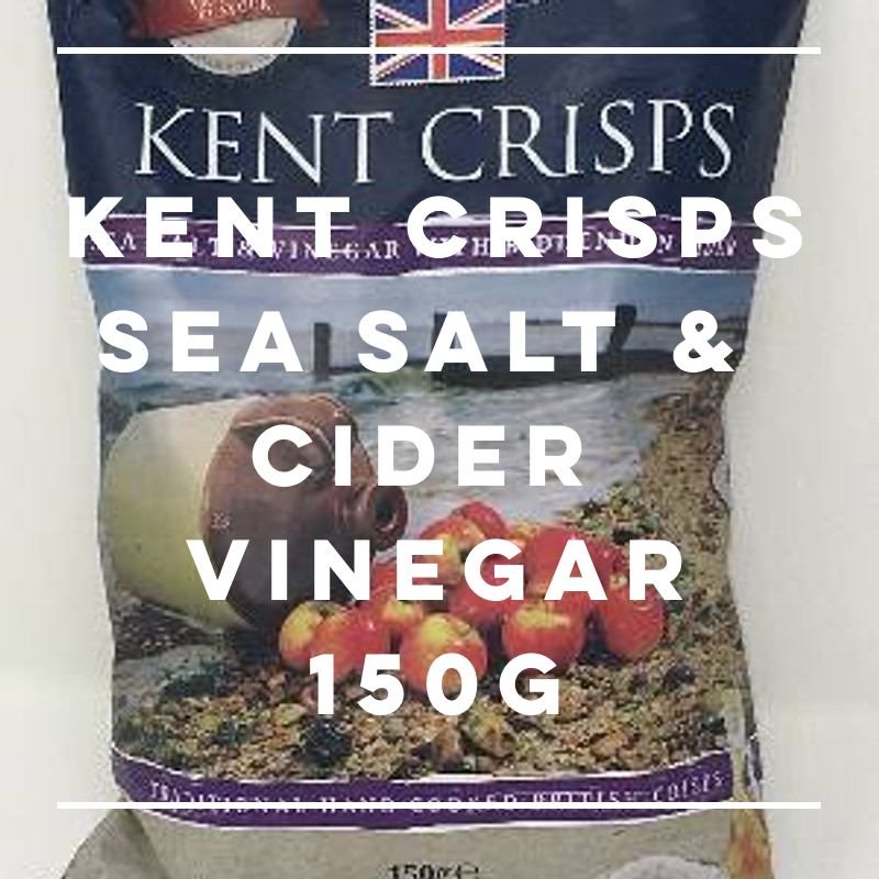 Kent Crisps: Sea Salt & Vinegar