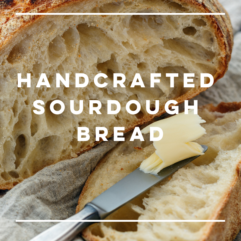 New! Handcrafted Sourdough Loaf