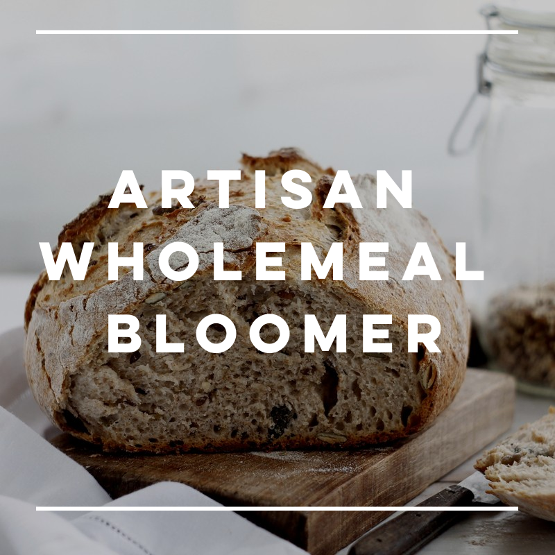 New! Artisan Wholemeal Bloomer