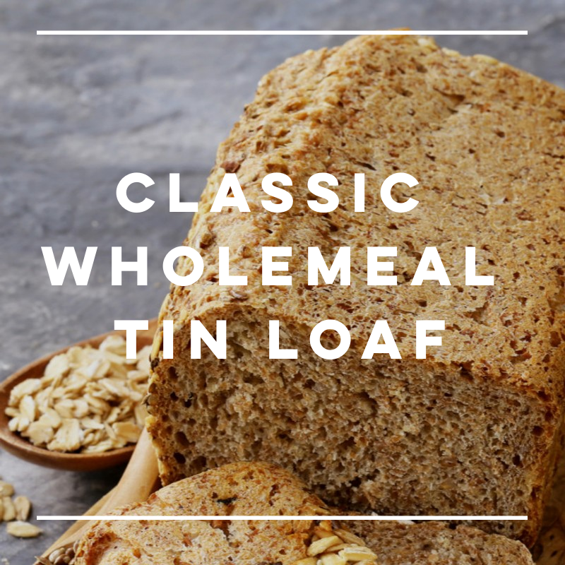 New! Wholemeal Tin Loaf