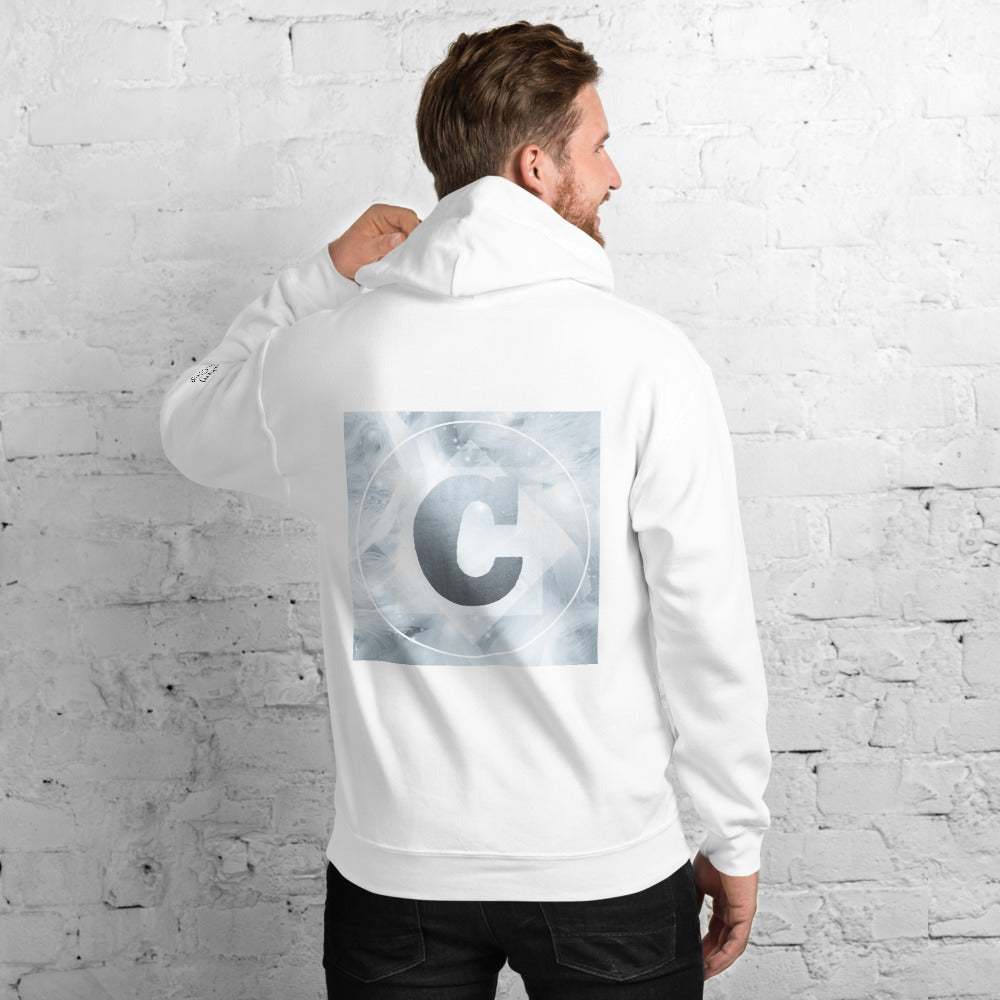 Unisex Hoodie with Black and White logo