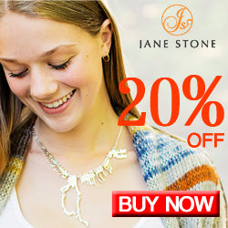 Jane Stone Dinosaue Necklace