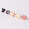 Colorful Punky Rock Earring Studs