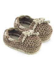 Load image into Gallery viewer, Jefferies Baby Boy Boat Shoe Booties