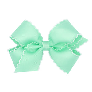 Wee Ones Moonstitch Bows - King or Medium Size