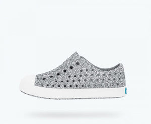 Native Jefferson Shoes - Silver Bling