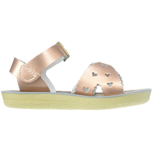 Sweetheart Sandals - Rose Gold