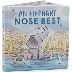 Jellycat Book - An Elephant Nose Best