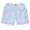 Southern Proper Blue & White Seersucker Short