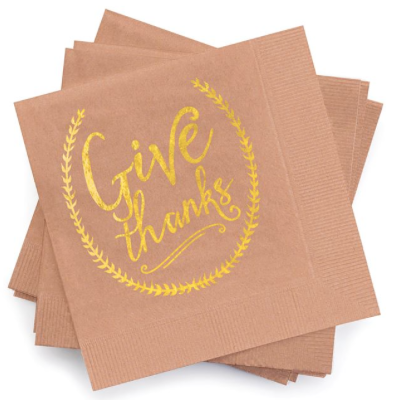 Give Thanks Napkin Set