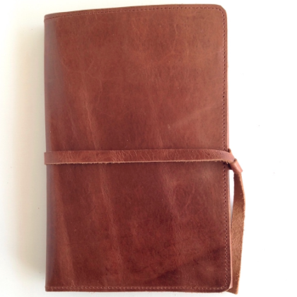 Chestnut Leather Journal Cover Medium