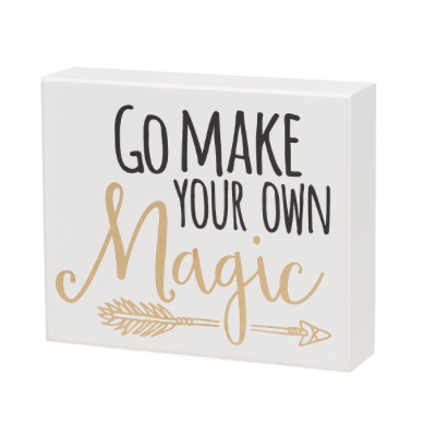 Make Your Own Magic Box Sign