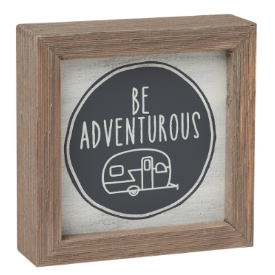 Adventurous Barn Box Sign