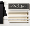 Chalk Style Pencil Set