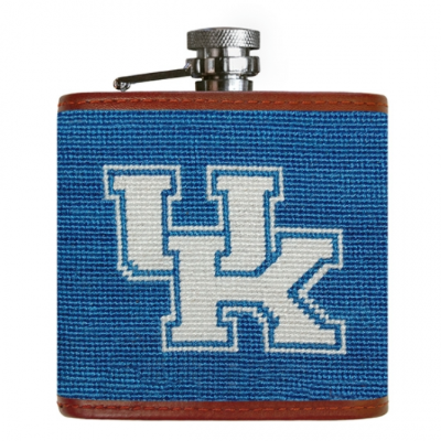 Kentucky Needlepoint Flask