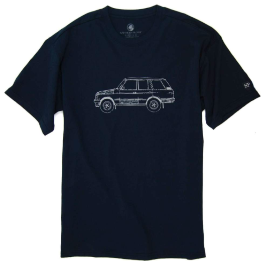 Rover Tee Blueberry