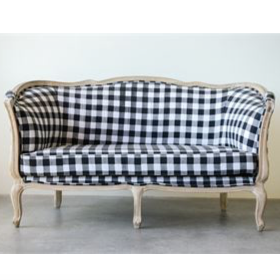 Buffalo Check Sofa