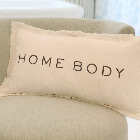 Home Body Down Lumbar Pillow