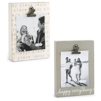 Happy Clip Book Frames