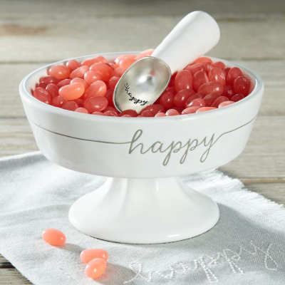 Happy Ceramic Candy Dish