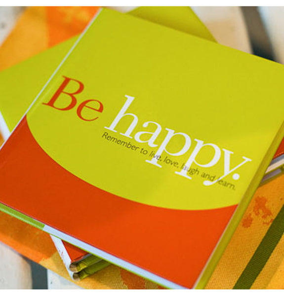 Be Happy - book