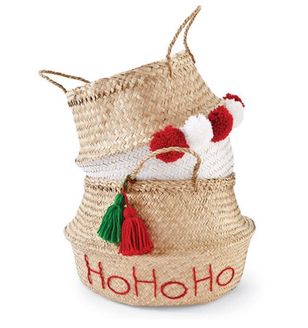 Holiday Collapsible Basket Set