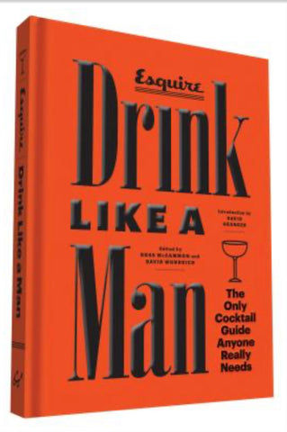 Drink Like a Man Book