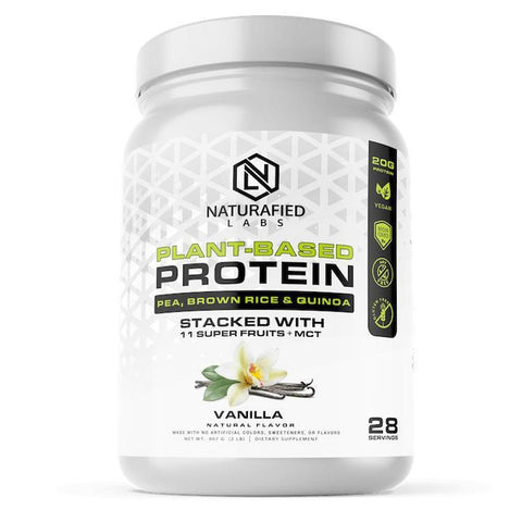 Plant-Based Protein - Stacked w/ 11 Superfruits & MCT-The Fitness Reserve