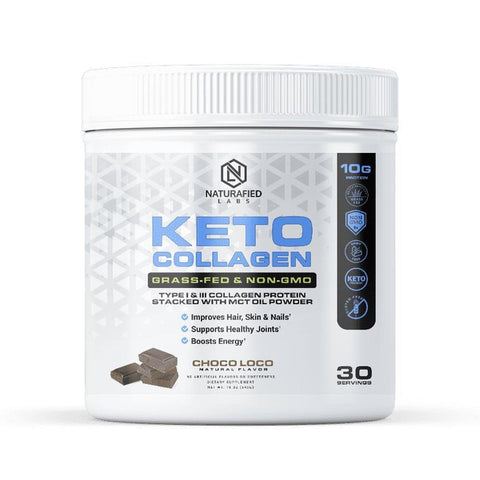 Keto Collagen - Grass-Fed, Non-GMO & Stacked w/ MCT-The Fitness Reserve