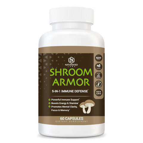 Shroom Armor 5-in-1 Immune Defense†-The Fitness Reserve