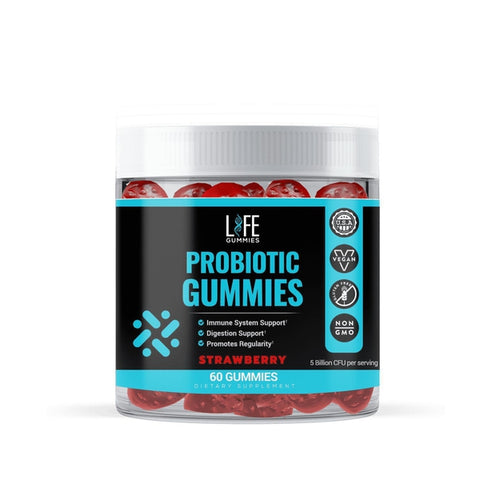 Probiotic Life Gummies-The Fitness Reserve