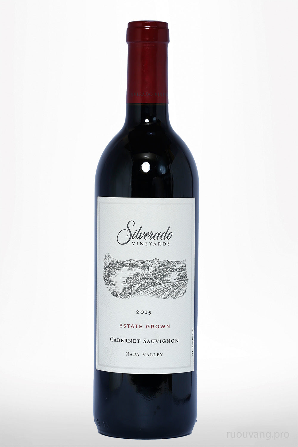 Silverado Vineyards Estate Grown Cabernet Sauvignon 2015