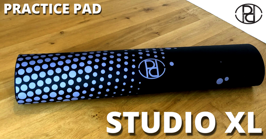 "NEW PRACTICE PAD STUDIO XL -  A BIGGER space (94.5"" x 47.2"") for you to practice ANYWHERE! FREE SHIPPING offer on all PRE ORDERS right now, delivery in 4 - 6 weeks!"