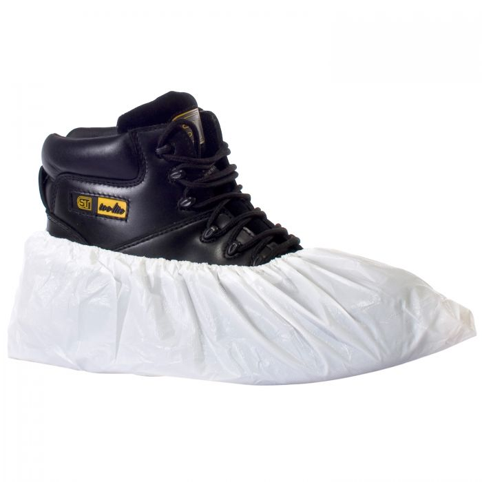 SuperTouch Disposable CPE Overshoes Single Size White