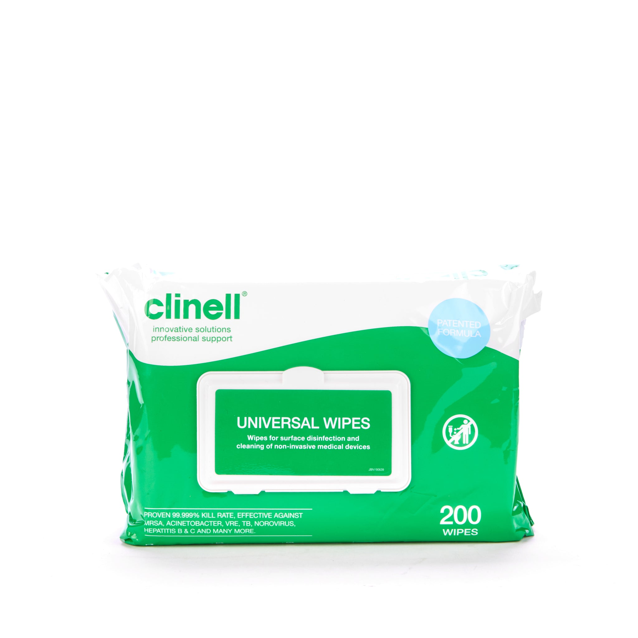 Clinell Universal 200 Wipes CW200