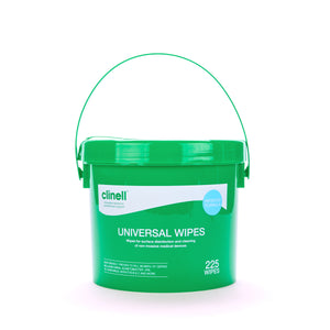 Clinell Universal Wipes Bucket 225 CWBUC225