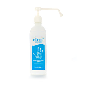 Clinell 520ml Hand Sanitising Liquid 75% Alcohol CFA520