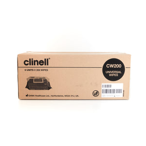 Clinell Universal 200 Wipes Pack (CW200)