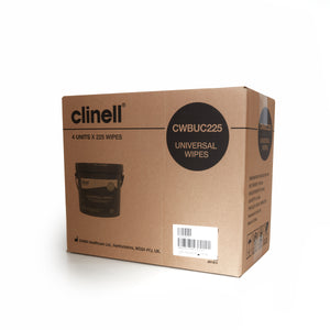 Clinell Universal Wipes Bucket | 225 (CWBUC225)