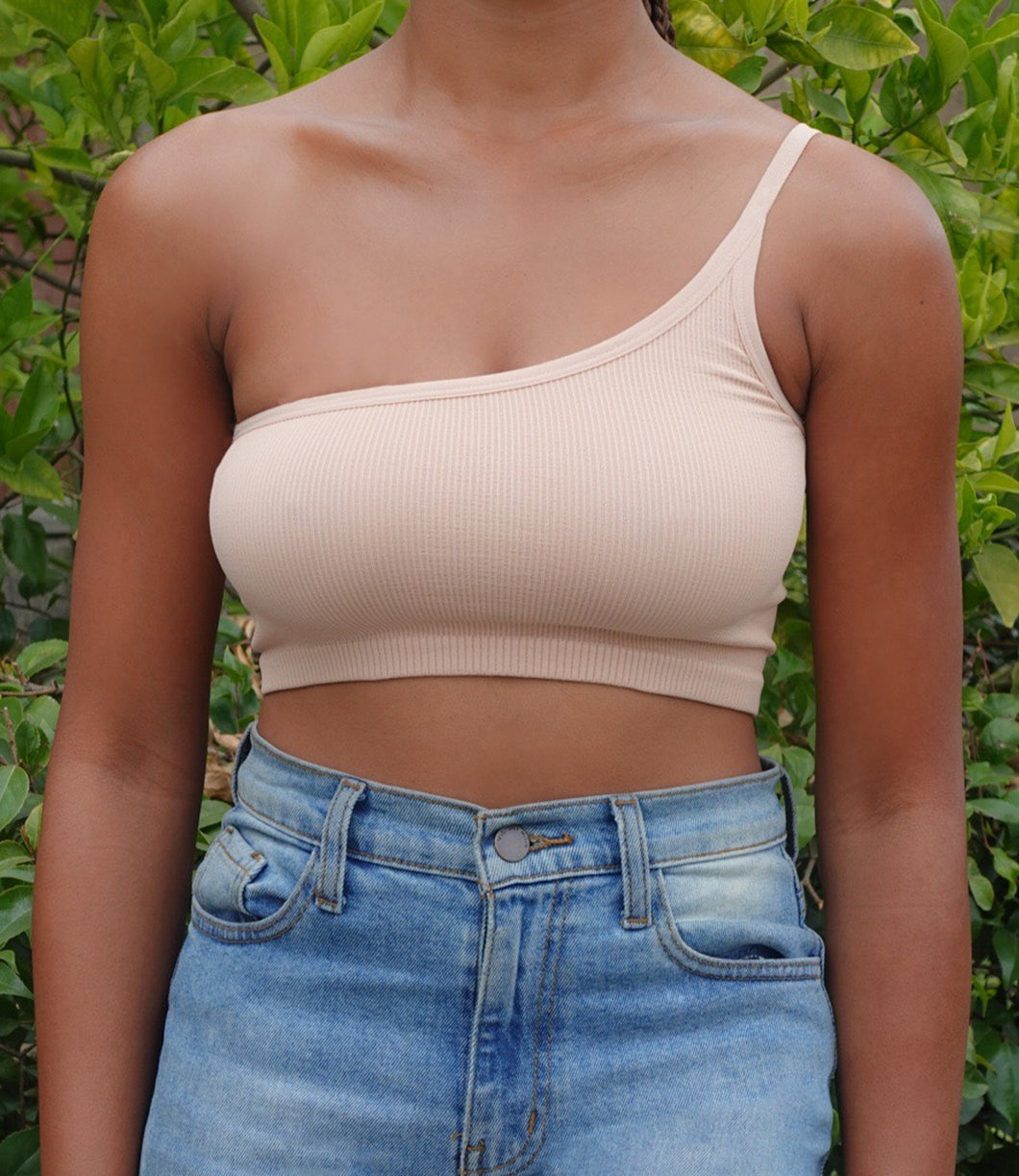 Tilly One Strap Top(Beige)