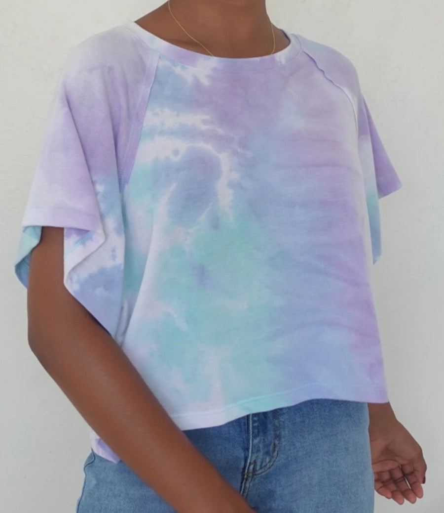 Stacy Oversize Top(Tie Dye)