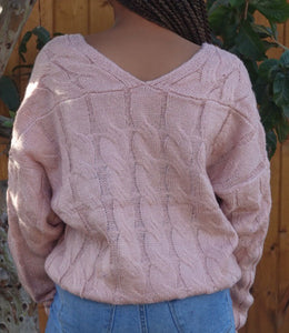 Aurora Sweater(Pink)