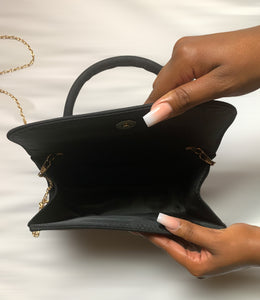 Topanga Crossbody bag(Black)