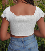 Load image into Gallery viewer, Gonda Crop Top(White)