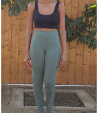 Load image into Gallery viewer, Journey Activewear Leggings(Kiwi Green)