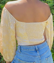Load image into Gallery viewer, Magnolia Mid Sleeve Top(Golden)
